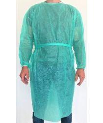 Halāts, ar garām piedurknēm, sienams, ar elastīgu manžeti, XL