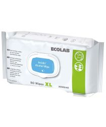 INCIDIN ALCOHOL WIPES XL, salvetes dezinfekcijai, 50 gab.