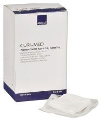 Salvetes neaustas, Curi-MED, 5x5 cm, 4 kārtas, sterilas